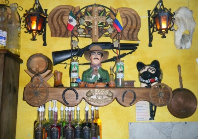 Jesus Malverde, the proclaimed patron saint of narcos, is praised in Mexico as a Robin Hood figure. His legacy of committing crimes to provide for the poor has inspired many criminal groups to follow suit, earning them a similar reputation among the people.